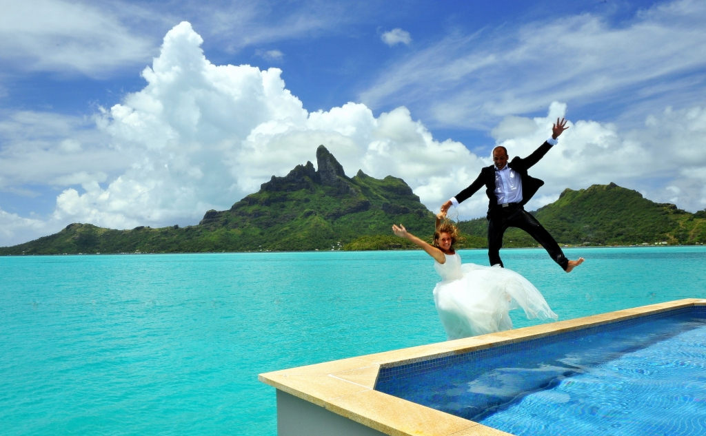 Bora bora wedding traveline specials bora bora wedding junglespirit Choice Image